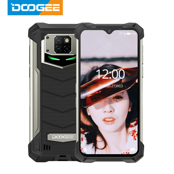 DOOGEE IP68/IP69K S88 Pro Android 10 OS Rugged Phone 10000mAh BIG Battery Quick Changing Helio P70 Octa Core 6GB RAM 128GB ROM