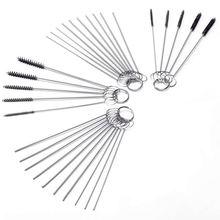Набор Щеток Для Чистки карбюратора, маленькая проволочная щетка-20 игл+ 10 щеток