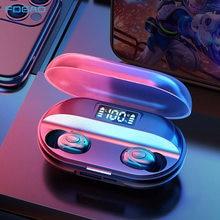 FDGAO słuchawki bezprzewodowe TWS sportowe słuchawki douszne Bluetooth 5.0 słuchawki wodoodporne z mikrofonem dla iPhone Samsung Xiaomi