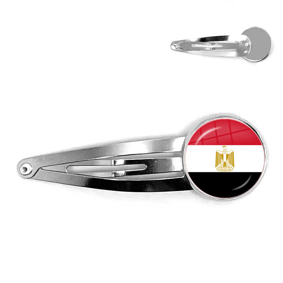 Palästina, Thailand, Zypern, Ägypten, Kolumbien, Tunesien, Österreich, Island, kambodscha Nationalen Flagge 20mm Glas Cabochon Haarnadeln Für Frauen