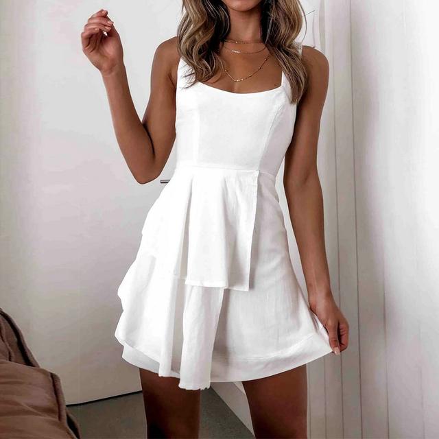 Mini Dresses 2020 Spring Summer Backless Boho