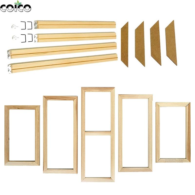 5 панелей, постер на заказ, деревянная рамка большого размера, деревянная самодельная Картина на холсте без рамы, галерея, настенные художес...