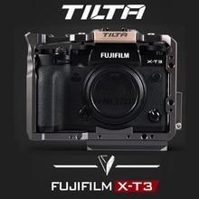 Tiltaケージ富士フイルムXT3 × T3とX T2デジタル一眼レフカメラハンドルグリップ富士フイルムxt3ケージケースアクセサリーvs smallrigケージ