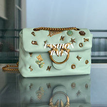 Top Quality Luxury Fashion Brand Style Designer Women Crossbody Messenger Bag Ladies Genuine Leather Handbag