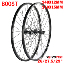 Wheel-Set Mountain-Bike 148x12mm VSTEO 110x15 11/12-Speed Boost-Hub-Barrel Spline 6-Claws