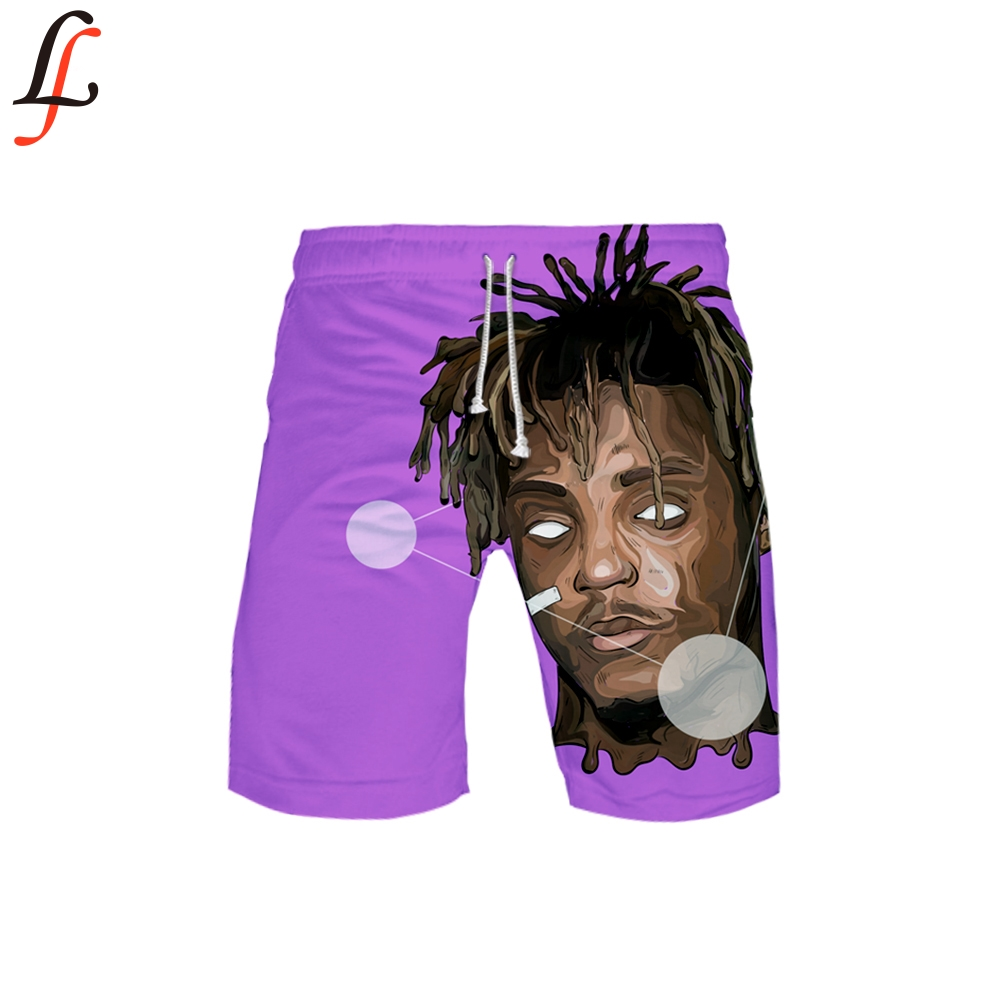 Juice Wrld 3D Shorts Pants Quick Dry Swimming Shorts For Men Swimwear Man Swimsuit Swim Trunks Summer Bathing Beach Wear Surf