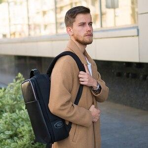 Image 5 - BOPAI 2 in 1 Rucksäcke für Männer Abnehmbare 15,6 zoll Laptop Rucksack Männlichen Wasserdichte Notebook Schlank Zurück Pack Schule Tasche
