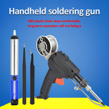 110V/220V 60W US/EU Hand-held Internal Heating Soldering Iron Automatically Send Tin Gun Soldering Welding Repair Tool
