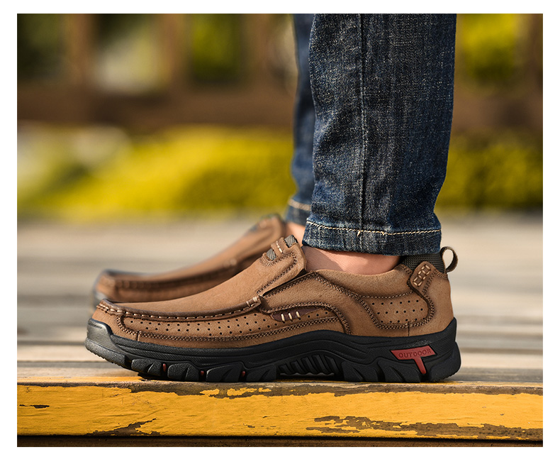 H7f0c622ca7934fdb9aa4e1014a22702e0 2019 New Men Shoes Genuine Leather Men Flats Loafers High Quality Outdoor Men Sneakers Male Casual Shoes Plus Size 48