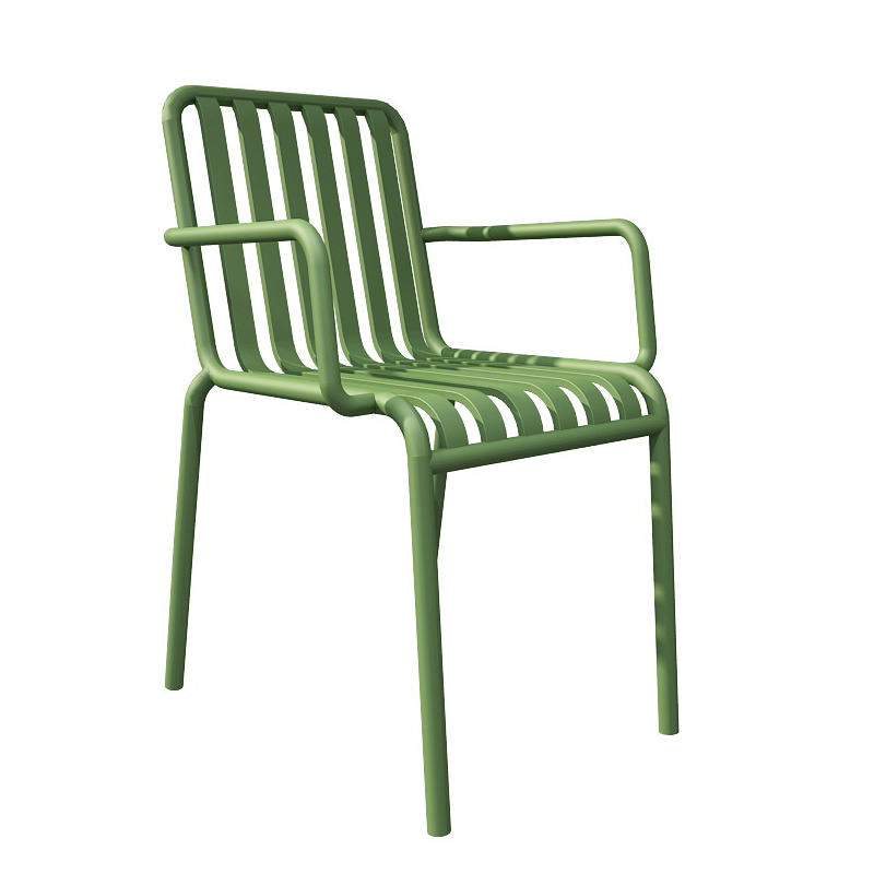 Nordic Plastic Chair Backrest Outdoor  Home Simple Casual Dining  Coffee  Thick   Can Be Stacked