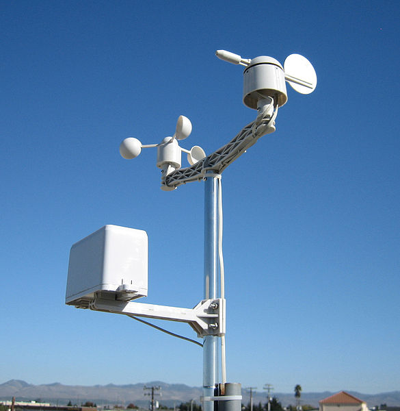 New Weather Station Wind Speed Sensor Wind Direction Rain Amount Internet Of Things Secondary Development APRS