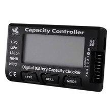 Verificador de capacidade de bateria digital rc CellMeter-7, testador de tensão de bateria lipo life nicd nimh, verificador de celular
