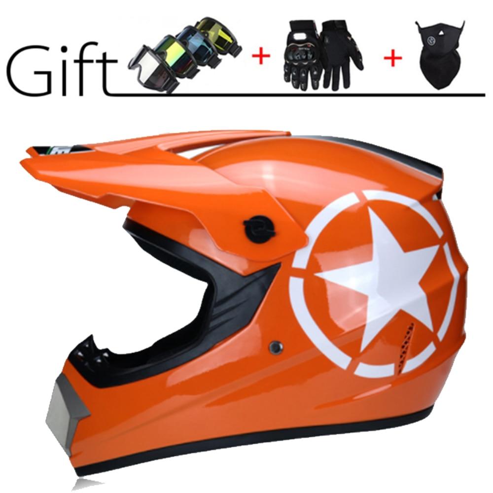 Motorcycle Helmet Children Motocross Off Road Helmet ATV Dirt Bike Downhill MTB DH Racing Helmet Cross Helmet Capacetes