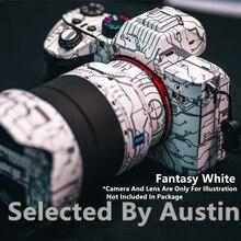 Ltd. Edition Película protectora decorativa antiarañazos para cámara, Protector de cubierta envolvente para Sony A7RIV A7III A7M3 A7R3 A7R4 A9 A6400 A6300