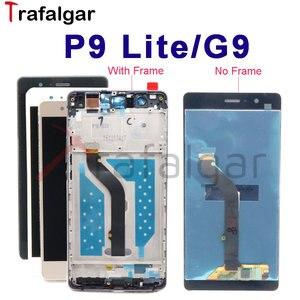 Image 1 - Affichage Trafalgar pour Huawei P9 Lite écran LCD G9 écran VNS L21Touch pour Huawei P9 Lite affichage avec remplacement de cadre