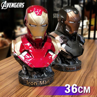 Us Superhero Avenger Metal Ironman Armor Mk 46 Figure Model MK46