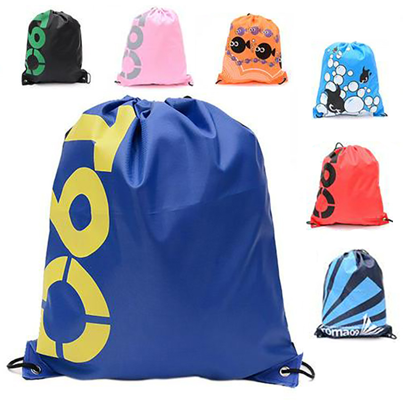 Outdoor Backpack Drawstring Sundries Bag Clothing Storage Bag Waterproof Bag Sports Storage Shoe Organizer Clothes Packing Bags