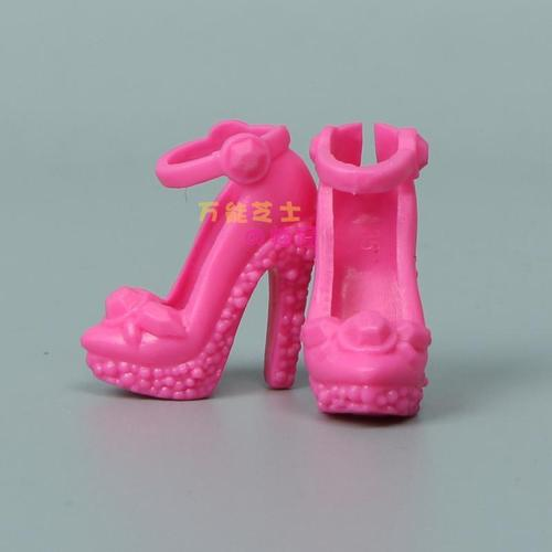 1/6 Doll Accessories Fashion Sneaker Flat Shoes Genuine Sandals Shoeshigh-heeled shoes for Barbie Doll Shoes 2