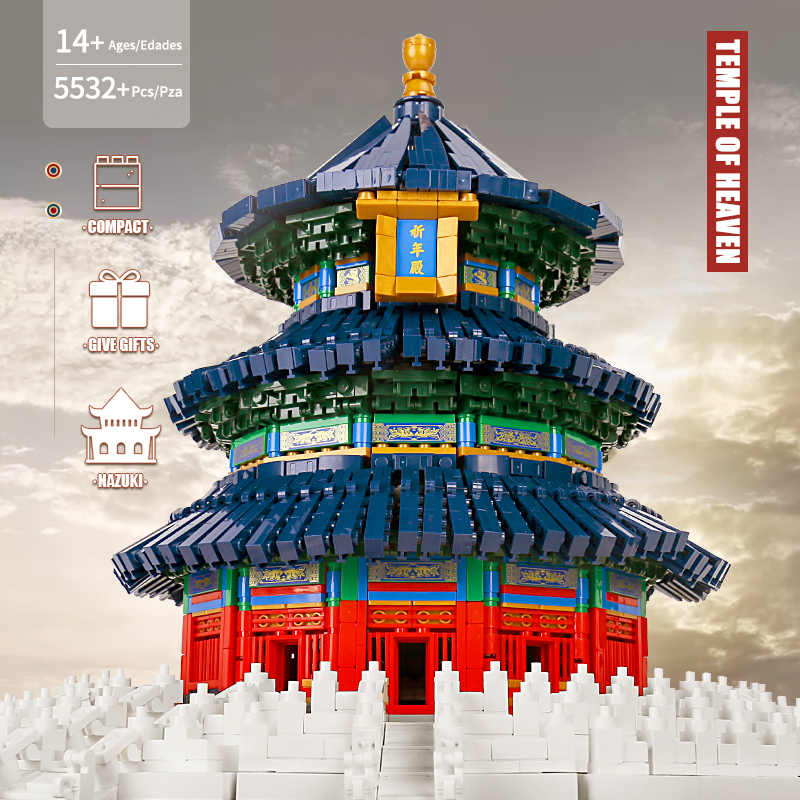MOULD KING 22009 The Temple of Heaven Model