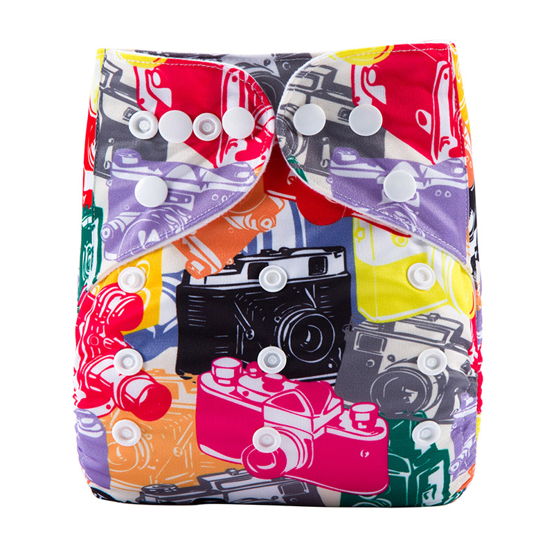 Waterproof Nappies Eco Friendly Reusable Nappies Terry Baby Cotton Cloth Diapers Organic Baby Diapers S24