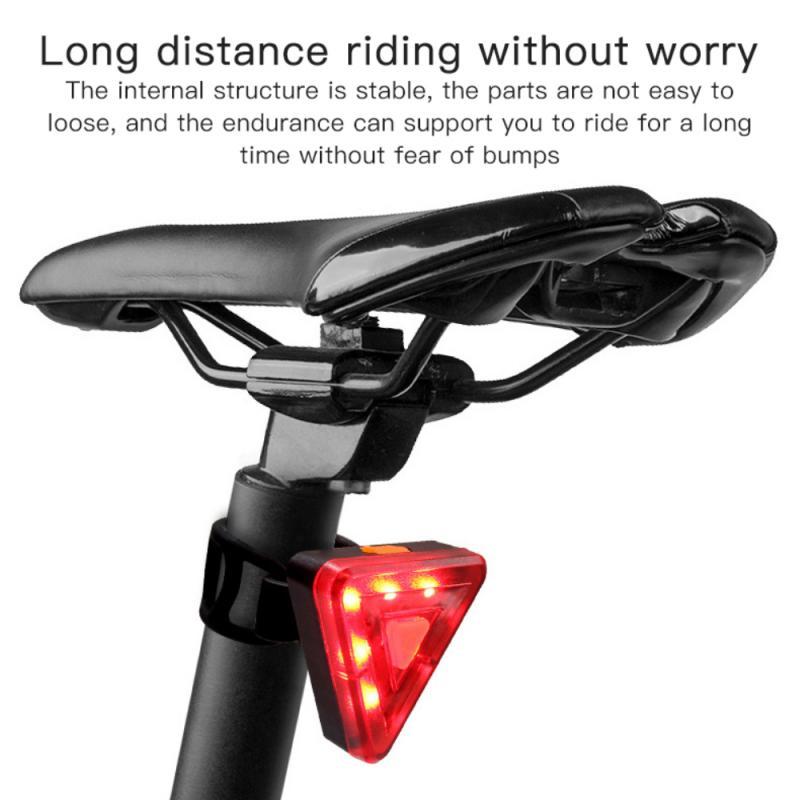 luce posteriore per mountain bike 2 pezzi ricaricabile tramite USB ultra luminosa Shenruifa luci posteriori a LED ad alta intensit/à Fanali posteriori ricaricabili tramite USB