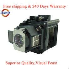 A + 品質と95% 輝度プロジェクターランプELPLP63エプソンEB G5650W/EB G5750WU/EB G5800/EB G5900/EB G5950/powerlite 4200ワット