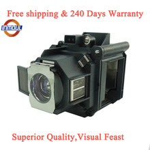 A+ quality and 95% Brightness projector lamp ELPLP63 for EPSON EB G5650W/EB G5750WU/EB G5800/EB G5900/EB G5950/PowerLite 4200W