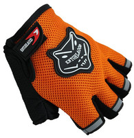 Summer Bike Half Finger Gloves Anti-scratch Material is soft, comfortable and feels good WBD
