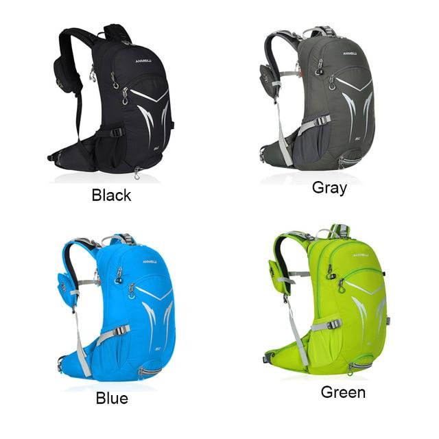20l bicicleta mochila, moutain caminhadas escalada saco, bicicleta mochila com capa de chuva, impermeável ciclismo mochila sem saco de água 6