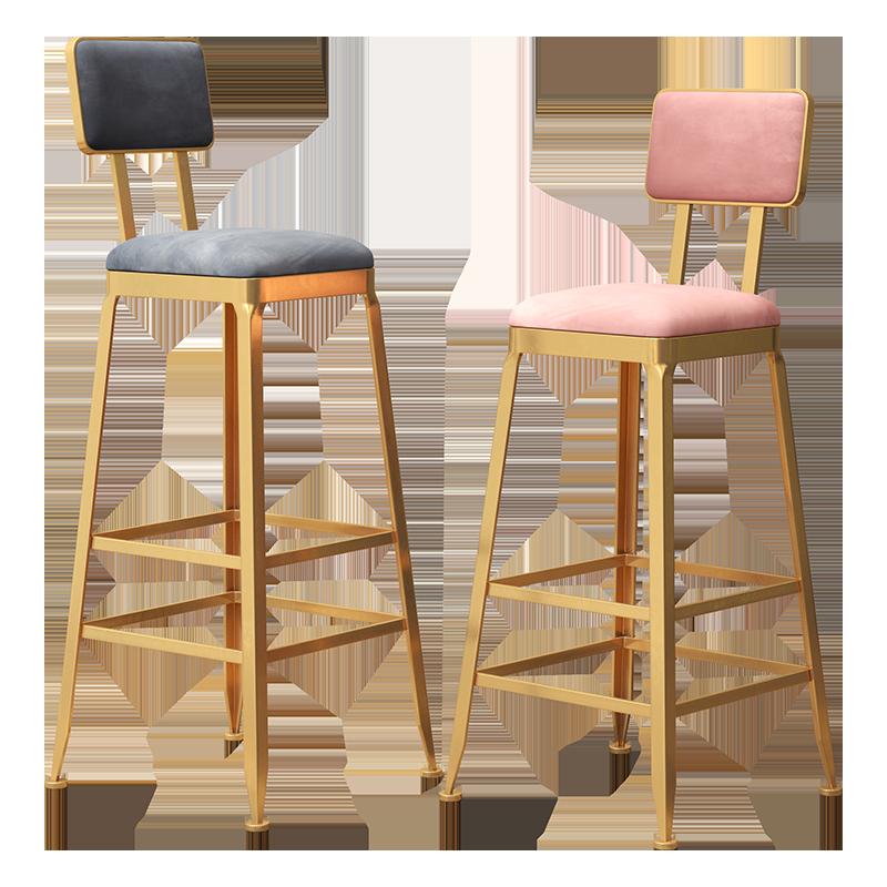 Bar Table Stools Chair Nordic Milk Tea Coffee Iron Modern Minimalist Cashier High Front Desk Sillas Banqueta Stoel Sedia