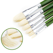 6pcs/set Senior oil painting pen brush bristle suit gouache 6 Pack Paint Brushes montmarte 15pcs set bristle hair oil paint brush acrylic paint brush gouache pincel para pintura pen art supplies pinceles oleo