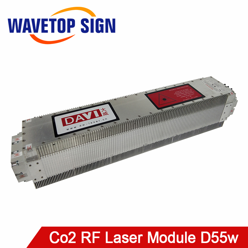 DAVI Air Cooling Co2 Laser Source Laser Module D55w Use For Co2 RF Laser Tube