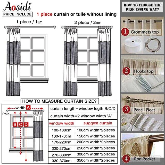 Gradient Color Bedroom Curtain 6