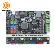 SIMAX3D 3d Printer Mainboard Mks Gen L Robin Nano Controller Compatible With Ramps1.4 R3 Support Marlin touch screen printer kit 3d printer motherboard kit mks base v1 6 12864lcd compatible with mega2560 ramps1 4