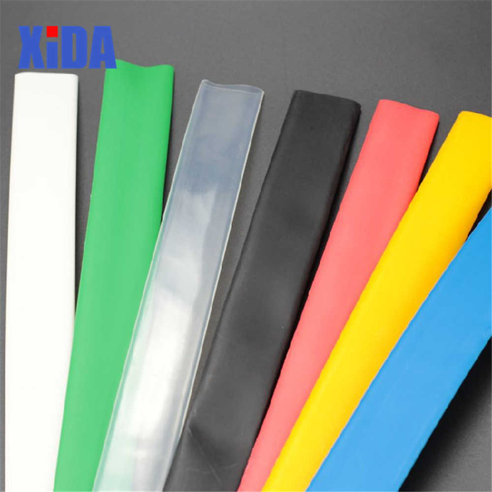 1 เมตร 2:1 สีดำ 5mm 6mm 7mm 8mm 9mm 10mm 11mm 12mm 13mm 14mm Heat Shrink HEATSHRINK ท่อลวด Sleeving Wrap ลวดชุด