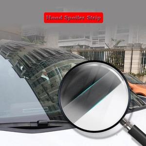 Image 5 - 1.8M samochodów gumowy pasek uszczelniający osłona przedniej szyby Auto przednia szyba Spoiler dla Nissan Peugeot Hyundai Fiat KIA volkswagen ect