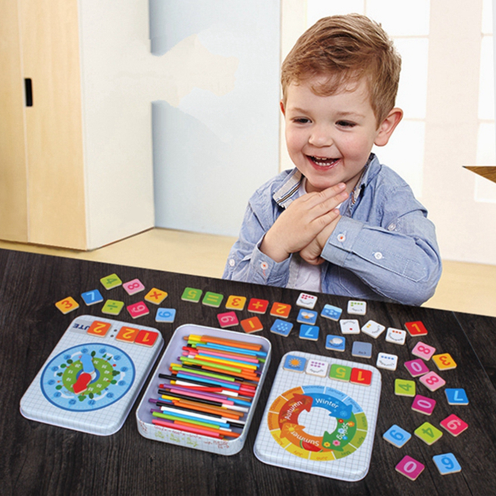 Baby Educational Toys Toy Box Montessori For Digital Multifunctional Learning Mathematics Toys For Children