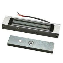 180kg/350lbs elektroniczny zamek magnetyczny instalacja metalowa 12V pojedyncze drzwi powierzchnia do ochrony sypialni w domu
