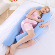 Sleeping Pillow For Pregnant Women U Shaped Pregnancy Pillow & Maternity Support Fully Body Bedding   With Pregnancy Pillow Case