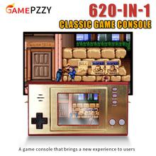 Klasyczna gra wideo konsola wbudowana 620 gier Mini przenośna Retro konsola do gier 3 0 Cal ekran prezent dla dzieci tanie tanio GAMEPZZY NONE CN (pochodzenie) GB-35 620 classic game 2 5 inch Support tv connection av output