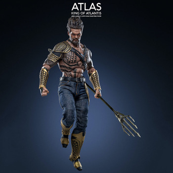 Art Figures AI-005 1/6 Scale Collectible Son of Aquaman King of Atlantis Atlas Action Figure Model for Fans Holiday Gifts collectible 1 12 scale full set thor ragnarok action figure doll figure weapon model for fans holiday gifts