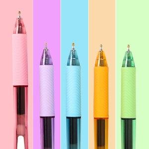 Kawaii японские Канцтовары Pentel BLN-105 быстросохнущая перестраиваемая гелевая ручка 0,5 мм черная искусственная офисная ручка для письма