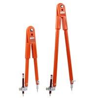 Carpenter precisão lápis compasso divisor ajustável de grande diâmetro marcação e scribing compasso para trabalhar madeira