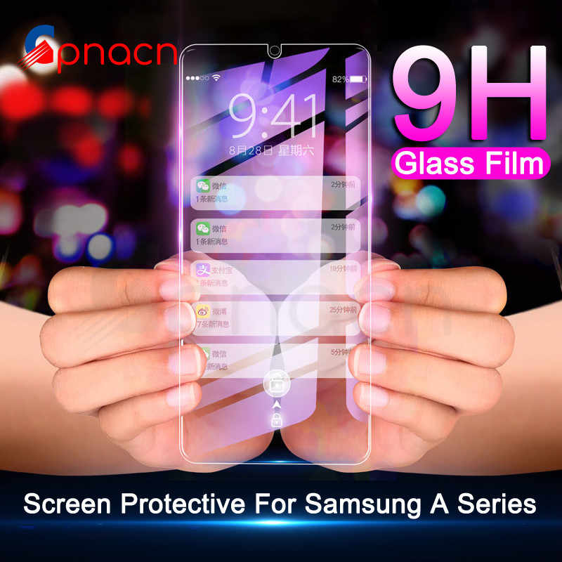 9H Protective Glass For Samsung Galaxy A10 A20 A20E A30 A40 A40S A50 A60 A70 A80 A90 M10 M20 M30 M40 Screen Tempered Glass Film