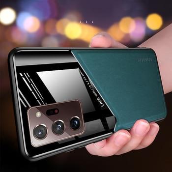 Роскошный Магнитный кожаный чехол для Samsung Galaxy Note 20 10 S20 FE S10 Plus Ultra A 81 71 51 41 31 21s 70 s 20s 10 s 50s 30s