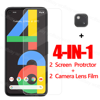 Full Glue Glass For Google Pixel 4A Screen Protector For Pixel 4A Tempered Glass Protective Phone Film For Google Pixel 5 4A 5G