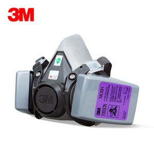 Image 5 - 19in1 3M 6200 Half Facepiece Gas Mask Respirator With 6001/2091/5N11 Filter Fit Painting Spraying Dust Proof
