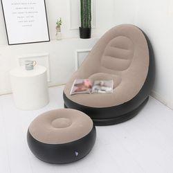 Надувной диван-кровать с педалями, ПВХ портативный надувной диван для отдыха
