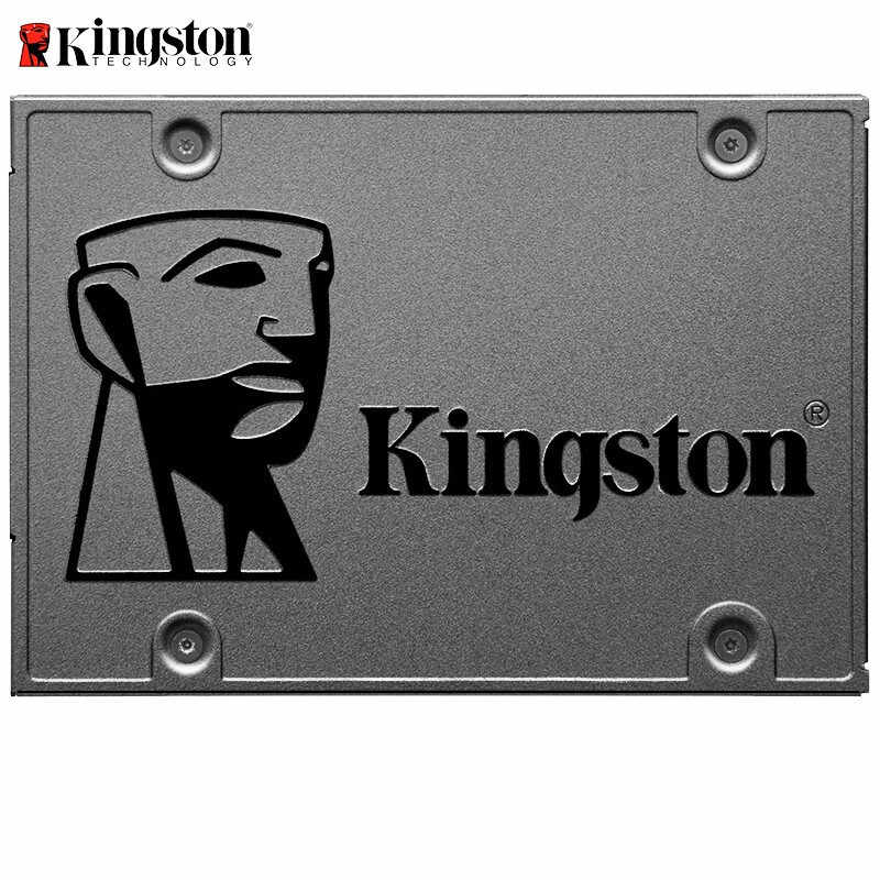 Oryginalny Kingston SSD жесткий диск 240 gb SATS 3 HDD 2.5 cala Disco Duro ssd z Hdd Caddy/Optibay lub Adapter do komputera Laptop
