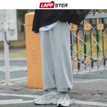 Joggers-Pants LAPPSTER Harajuku Japanese Streetwear Black Korean-Style Male Baggy Men